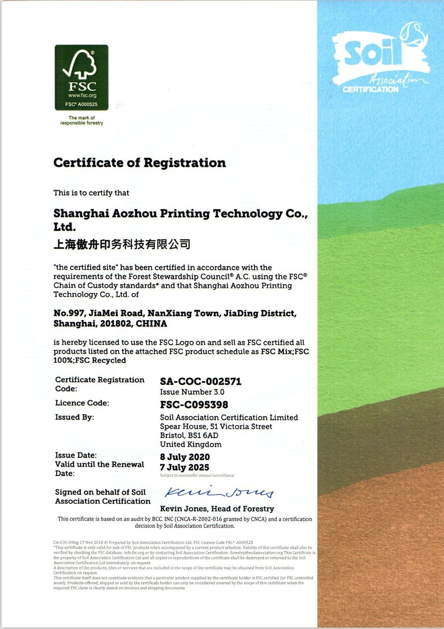 Chine Shanghai Theo International Trading Co., Ltd Certifications